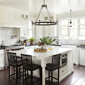 Unique Farmhouse Lighting Kitchen Ideas 33