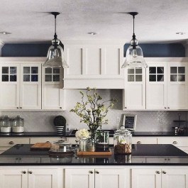 Unique Farmhouse Lighting Kitchen Ideas 38