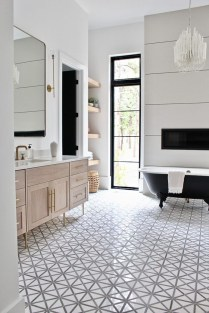 Adorable Contemporary Bathroom Ideas To Inspire 14