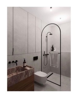 Adorable Contemporary Bathroom Ideas To Inspire 20