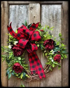 Magnificient Rustic Christmas Decorations And Wreaths Ideas 50