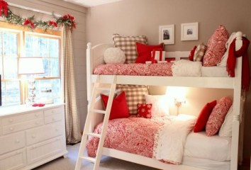 Stunning Christmas Bedroom Decor Ideas 48