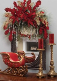 Wonderful Red Christmas Decoration Ideas 35
