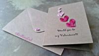 Awesome Diy Cards Design Ideas For Valentine Day 41
