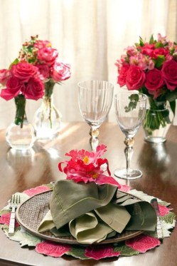 Cute Table Setting Ideas For Valentines Day 48