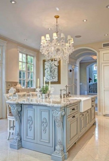 Delightful French Country Kitchen Design Ideas 28