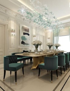 Fascinating Chandelier Lamp Design Ideas For Your Dining Room 38