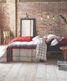 Wonderful Ezposed Brick Walls Bedroom Design Ideas 05