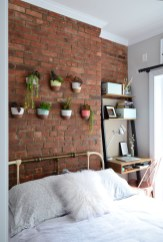 Wonderful Ezposed Brick Walls Bedroom Design Ideas 27