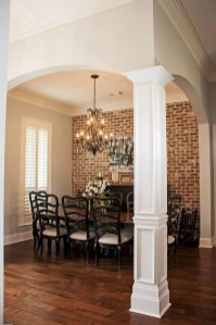 Amazing French Country Dining Room Table Decor Ideas 21