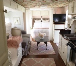 Amazing Travel Trailers Remodel Rv Living Ideas 10