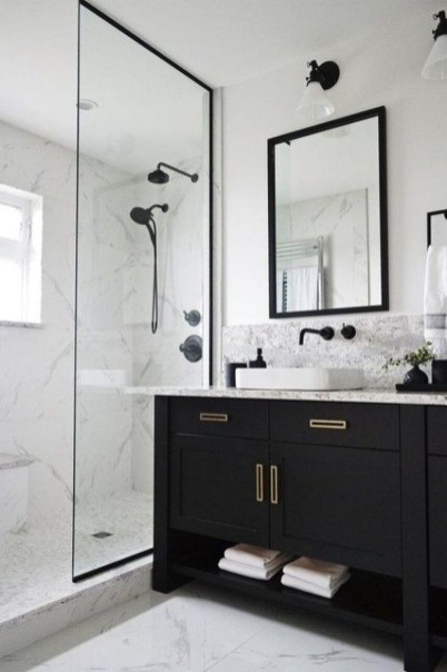 Awesome Bathroom Makeover Ideas On A Budget 46