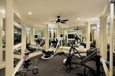 Cheap Home Gym Decorating Ideas For Small Space 11