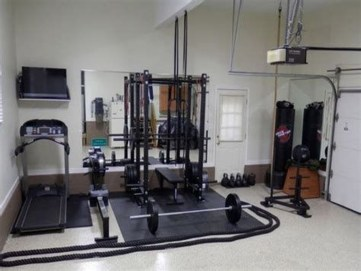 Cheap Home Gym Decorating Ideas For Small Space 17