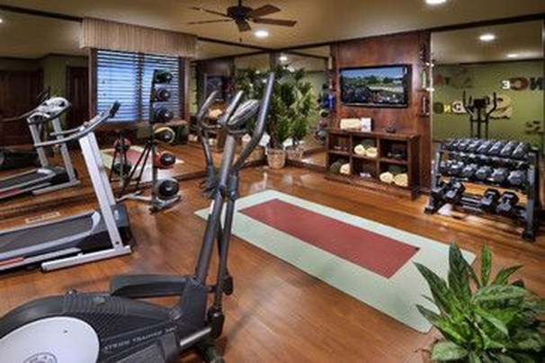 Cheap Home Gym Decorating Ideas For Small Space 22
