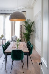 Modern Mid Century Dining Room Table Decor Ideas 12
