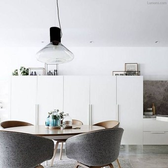 Modern Mid Century Dining Room Table Decor Ideas 15