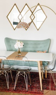 Modern Mid Century Dining Room Table Decor Ideas 22