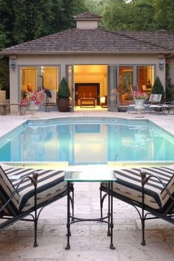 Nice Pool House Decorating Ideas On A Budget 38