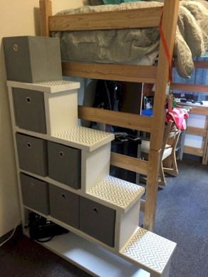 Unique Dorm Room Storage Organization Ideas On A Budget 08