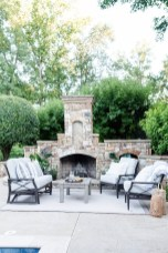 Wonderful Outdoor Fireplace Design Ideas 17