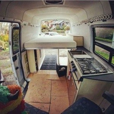 Wonderful Rv Camper Van Interior Decorating Ideas 25