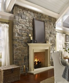 Beautiful Stone Veneer Wall Design Ideas 08