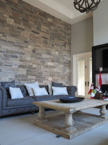 Beautiful Stone Veneer Wall Design Ideas 09