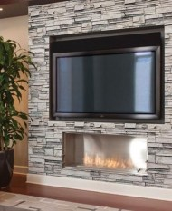 Beautiful Stone Veneer Wall Design Ideas 19