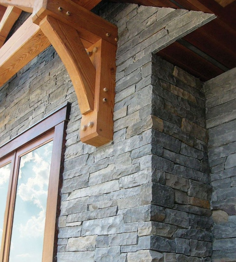 Beautiful Stone Veneer Wall Design Ideas 26