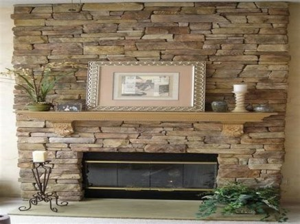 Beautiful Stone Veneer Wall Design Ideas 27