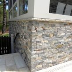Beautiful Stone Veneer Wall Design Ideas 45