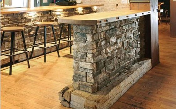 Beautiful Stone Veneer Wall Design Ideas 49