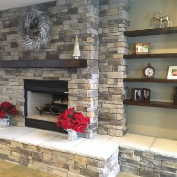 Beautiful Stone Veneer Wall Design Ideas 51