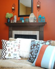 Charming Living Room Designs Ideas With Combinations Of Brown Color 14