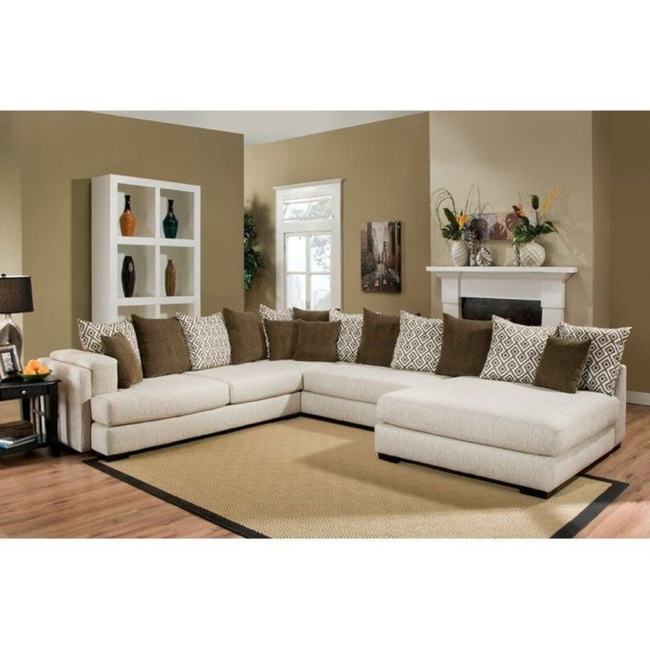 Charming Living Room Designs Ideas With Combinations Of Brown Color 27