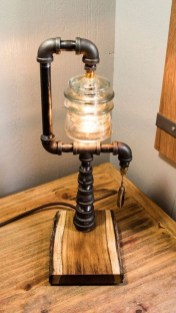 Cool Diy Industrial Pipe Lamps Ideas 02