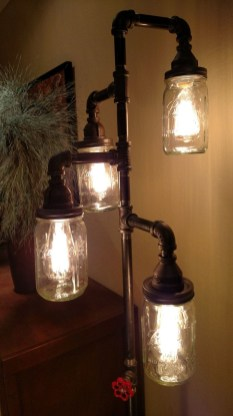 Cool Diy Industrial Pipe Lamps Ideas 15