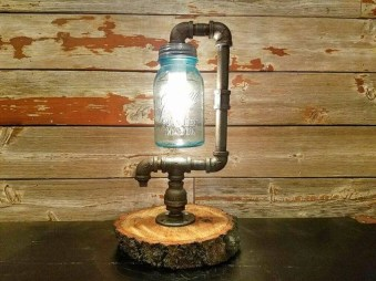 Cool Diy Industrial Pipe Lamps Ideas 44