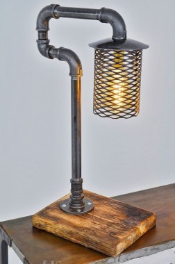 Cool Diy Industrial Pipe Lamps Ideas 49