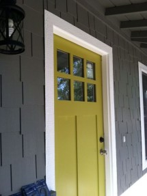 Flawless Exterior House Paint Ideas With Yellow Colors 34