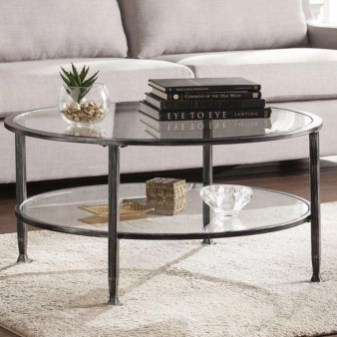 Marvelous Glass Coffee Tables Ideas For Living Room 02