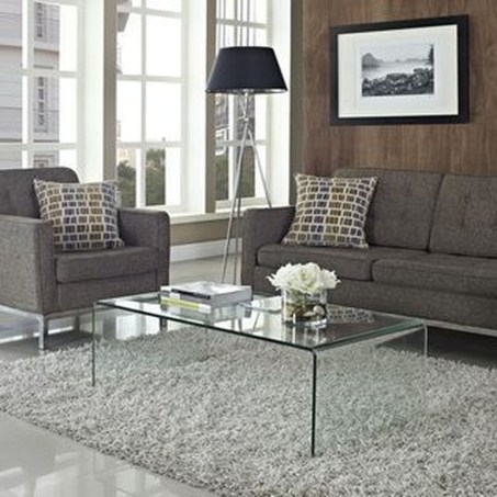 Marvelous Glass Coffee Tables Ideas For Living Room 48
