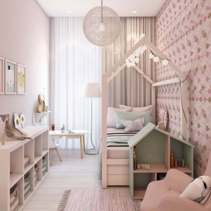 Pretty Scandinavian Kids Rooms Designs Ideas 13