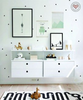 Pretty Scandinavian Kids Rooms Designs Ideas 35