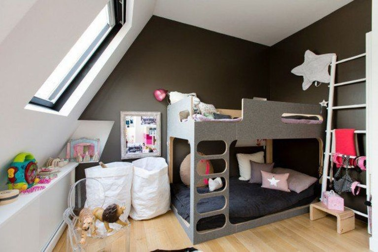Pretty Scandinavian Kids Rooms Designs Ideas 39