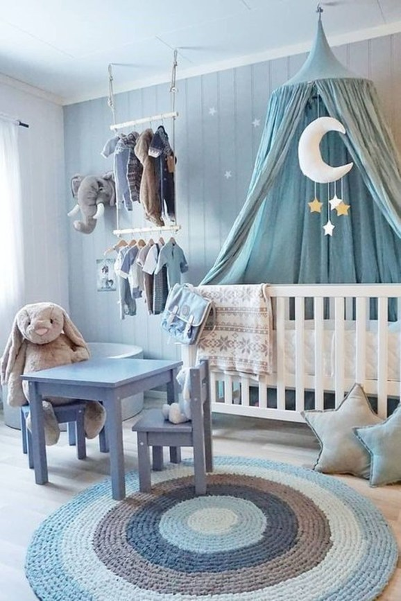 Pretty Scandinavian Kids Rooms Designs Ideas 40