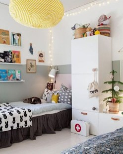 Pretty Scandinavian Kids Rooms Designs Ideas 45