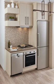 Stunning Small Kitchen Design Ideas For Home 12