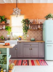 Stunning Small Kitchen Design Ideas For Home 32